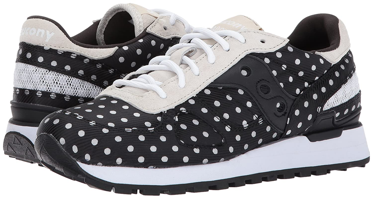 Amazon.com | Saucony Originals Womens Jazz Lowpro Sneaker, Black/White | Fashion Sneakers