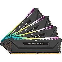 CORSAIR Vengeance RGB PRO SL 32GB (4x8GB) DDR4 3200 (PC4-25600) C16 1.35V