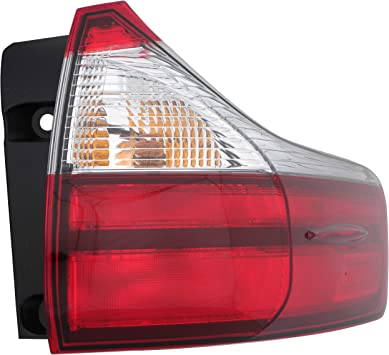 Epic Lighting OE Style Replacement Rear Brake Tail Light Assembly Compatible with 2015-2018 Sienna [ TO2805123 8155008050 ] Right Passenger Side RH