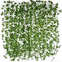 12 st. konstgjorda murgröna-girlanger (varje är ca 2 m lång), väggdekoration, murgröna-ranka. murgröna-girlang, murgröna…