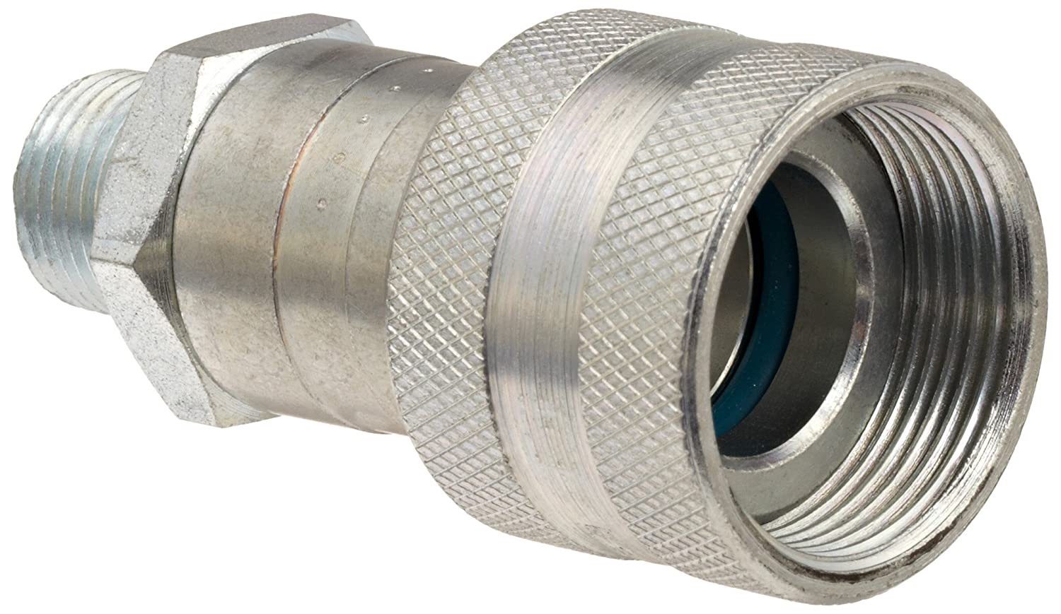 Dixon 30-300 Steel Hydraulic Quick-Connect Fitting 3//8 Male Coupling x 3//8-18 NPT Male Coupler