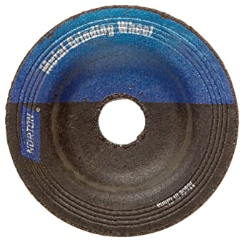 3//8 Arbor Norton Gemini Flexible Blending Depressed Center Abrasive Wheel Pack of 5 2 Diameter x 1//8 Thickness Grit 60 Aluminum Oxide Type 27