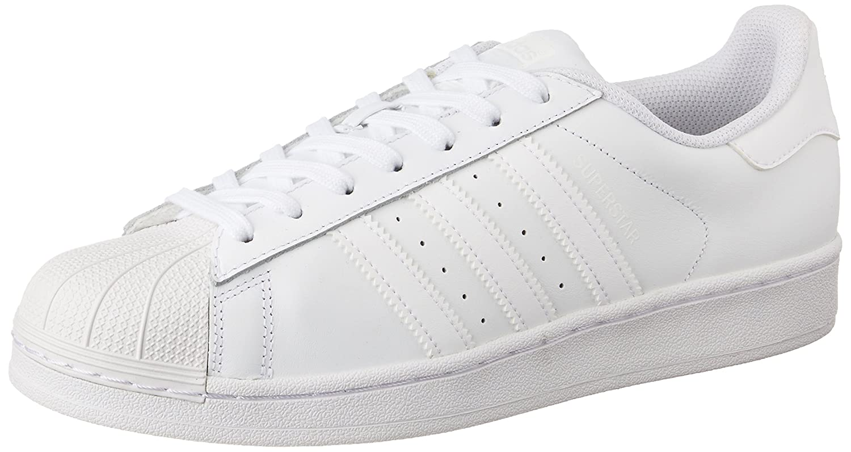 adidas Originals Men's Superstar Shoes 4.5 D(M) US|White