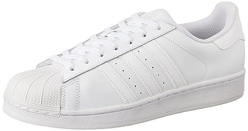 adidas hombres de la superestrella 1Señor deporte Shell Toe, color blanco, talla 36 EU