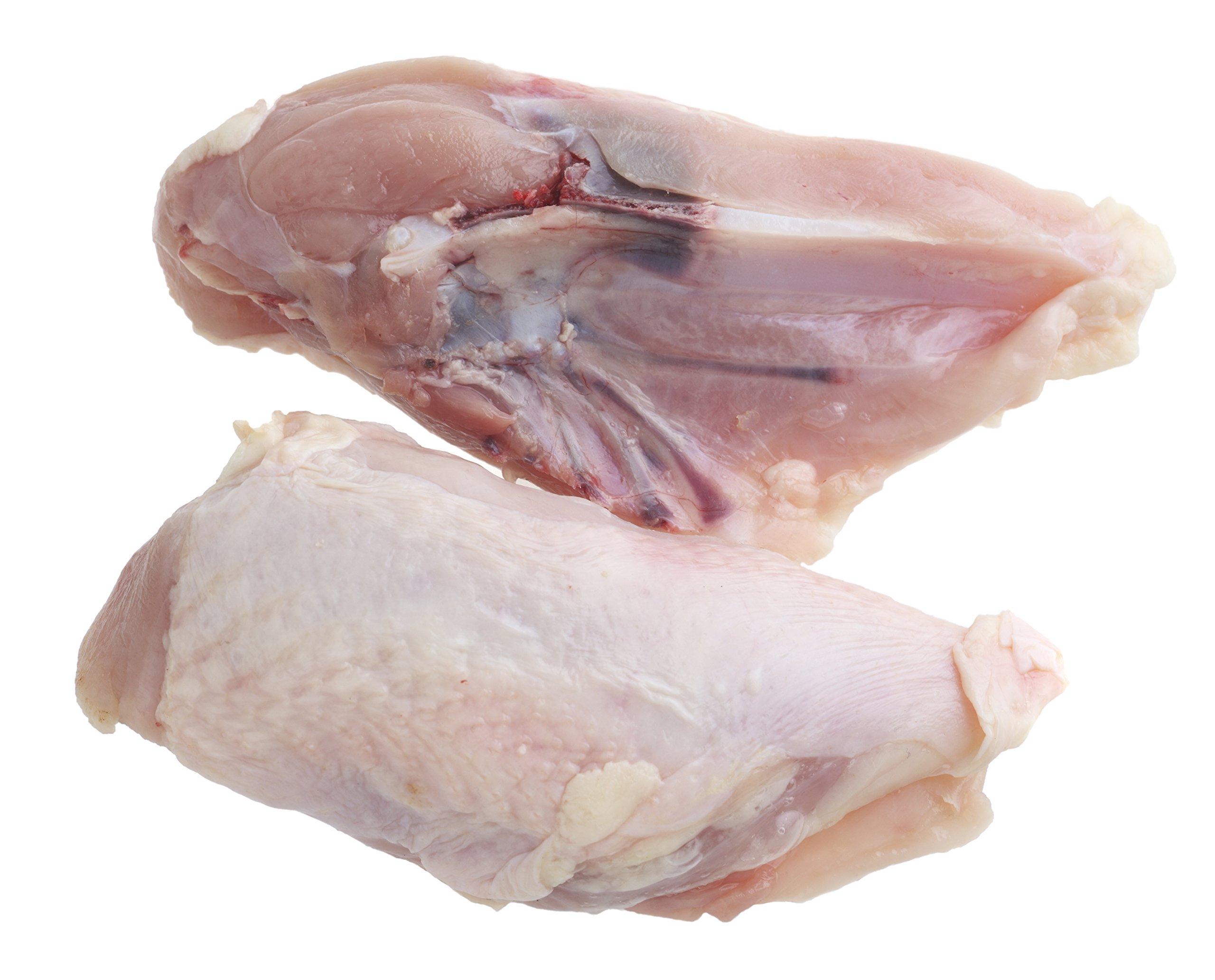Double Certified Organic Chicken Breast on Bone Without Wings (6.25-6.75 Lbs) - Glatt Kosher