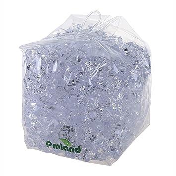 Amazon.com: pmland acrílico Bolsa de hielo Cubos de Rock 3 ...
