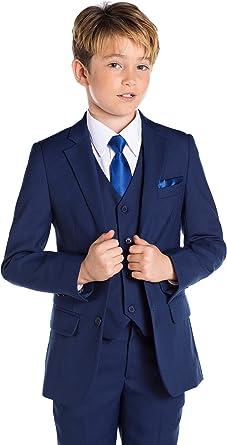 Paisley OF LONDON, niño en Azul Traje, Graduación Trajes, TRAJE ...