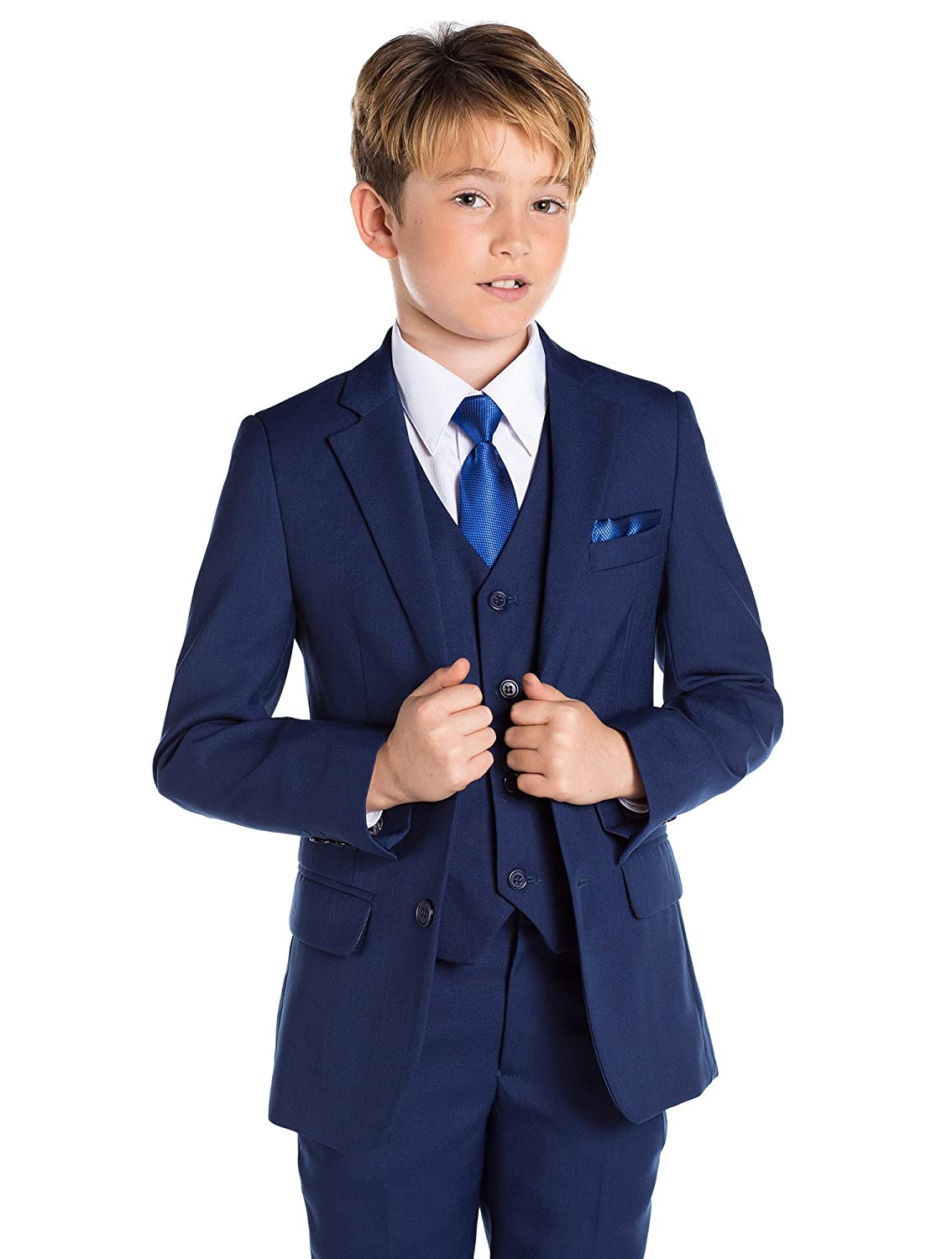 12-18 Months Boys Blue Suit Paisley of London Prom Suits 14 Years Page Boy Suits