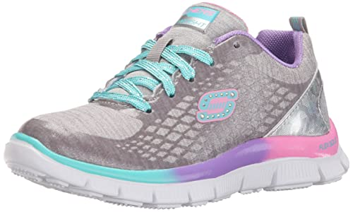skechers Skech Appeal-Surprise NSHINE - Zapatillas de Deporte Infantiles, Color Gris