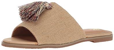 9224d22c2b605 BC Footwear Women s Doin Fine Slide Sandal Natural Burlap 6 M US
