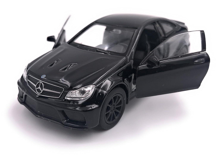 Welly Mercedes C63 Black Series Modè le de licence de voiture 1: 34-1: 39 Noir