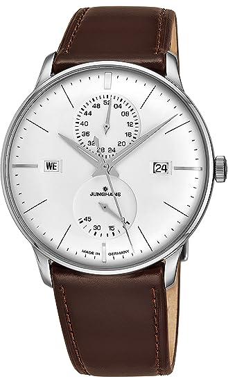 Junghans Meister Agenda Reloj de Hombre automático 40.4mm 027/4364.01: Amazon.es: Relojes