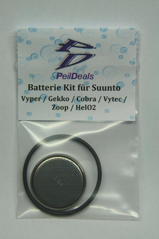 2 St/ück Suunto Batteriewechsels/ätze f/ür ZOOP GEKKO VYPER COBRA