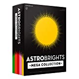 Astrobrights Mega Collection Colored Paper, 8 ½ x