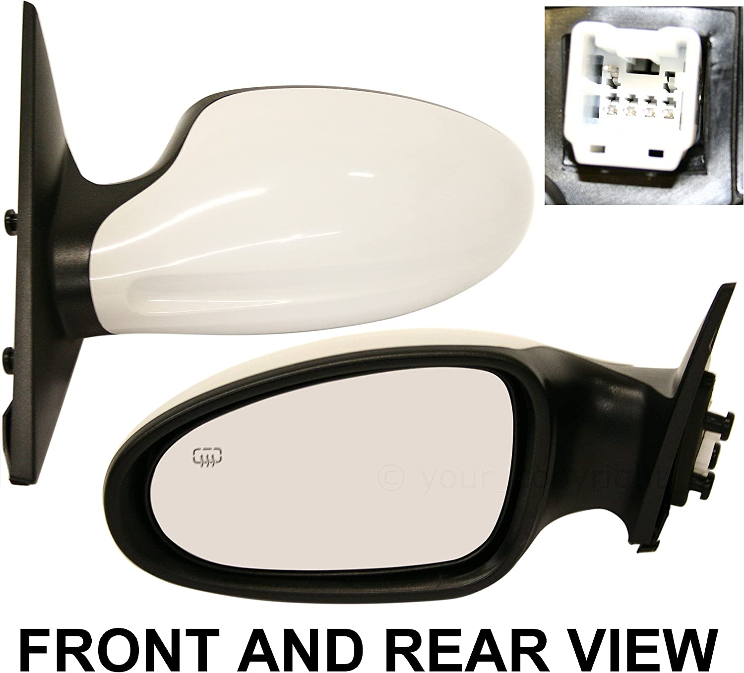 NI1320156 Replacement Door Mirror for 05-06 Altima Driver Side