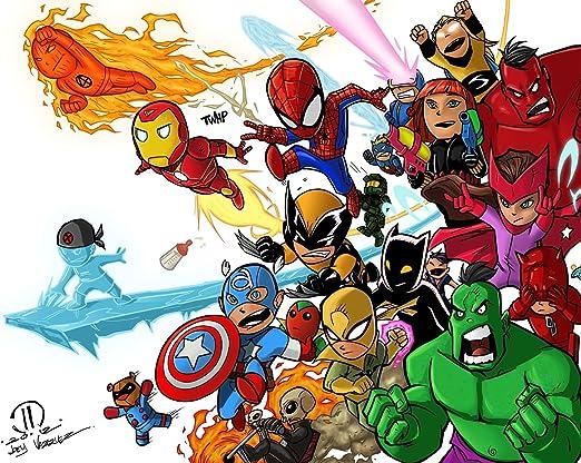 Amazon.com: sdore Marvel Los Vengadores Hulk Ironman ...