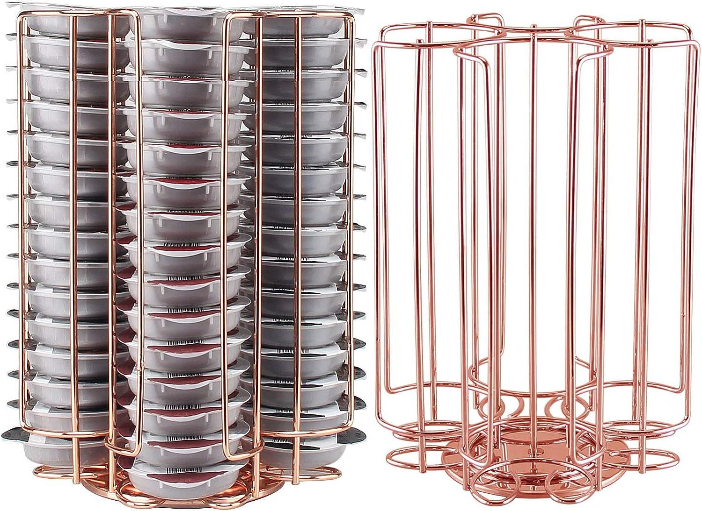 R//Gold 60 Ever Rich /® Tassimo Kapselhalter T-Disc Kaffeekapseln Bosch Tassimo St/änder /& Schublade Anti-Vibrations-Design