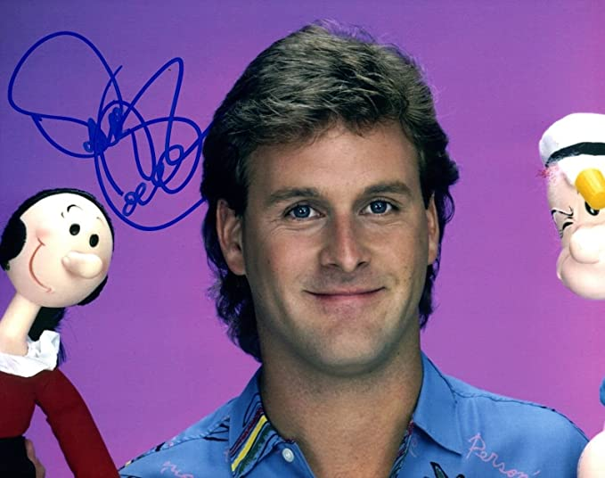 dave coulier signed autograph 8x10 photo full house fuller uncle