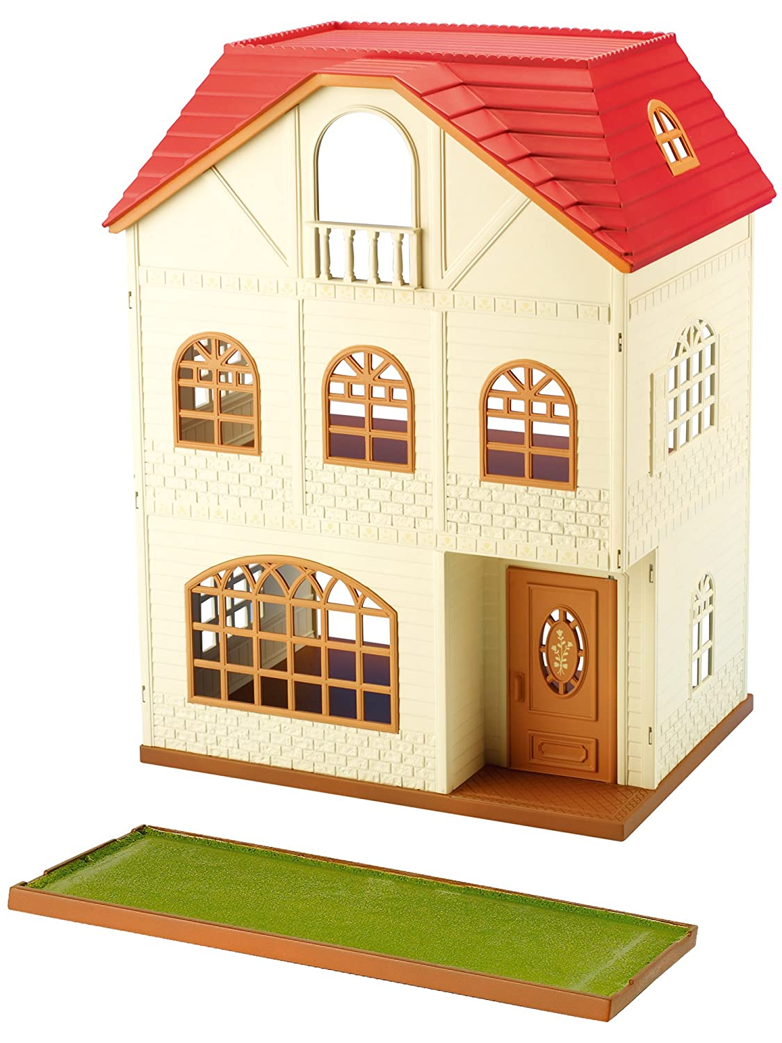 Sylvanian families 2745 dolls and accessories house with 3 stories multicolor amazon co uk toys games