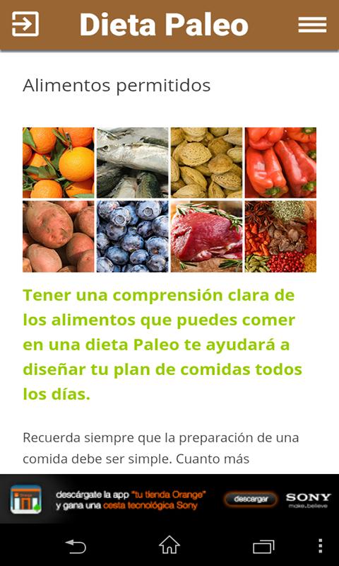 No alimentos permitidos paleo dieta