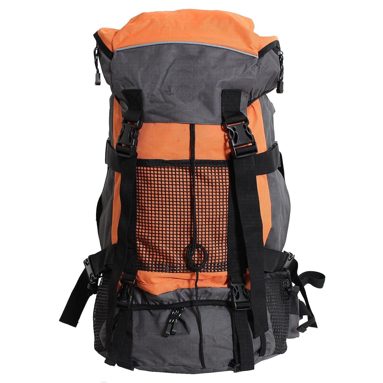 Brubaker vancouver sport sac à dos de randonnée 50 l en 5 couleurs KRUEG_77053-96-GrauOrange