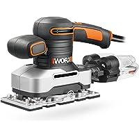 Worx WX642 vlakschuurmachine 270 W – handige schuurmachine met cycloontechnologie voor schoon werken – grote…