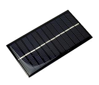 1W 6V 166mA 110x 60mm epoxi panel solar módulo solar panel solar F. Arduino Modelo Diseño DIY