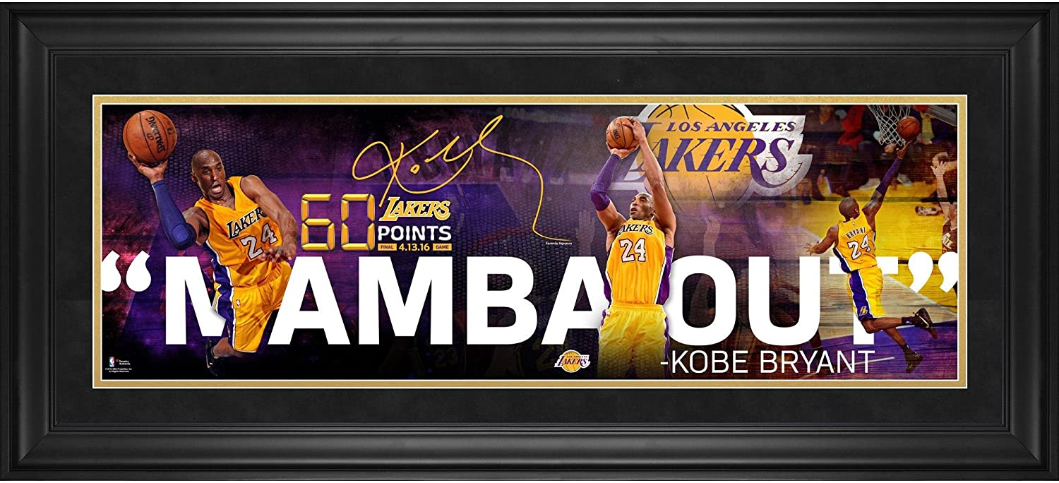 a426245c1d5 Kobe Bryant Los Angeles Lakers Framed 10