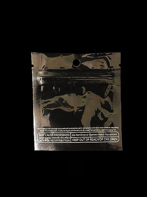 Amazoncom Mylar Smell Proof Bags W Rx Icon Label Marijuana