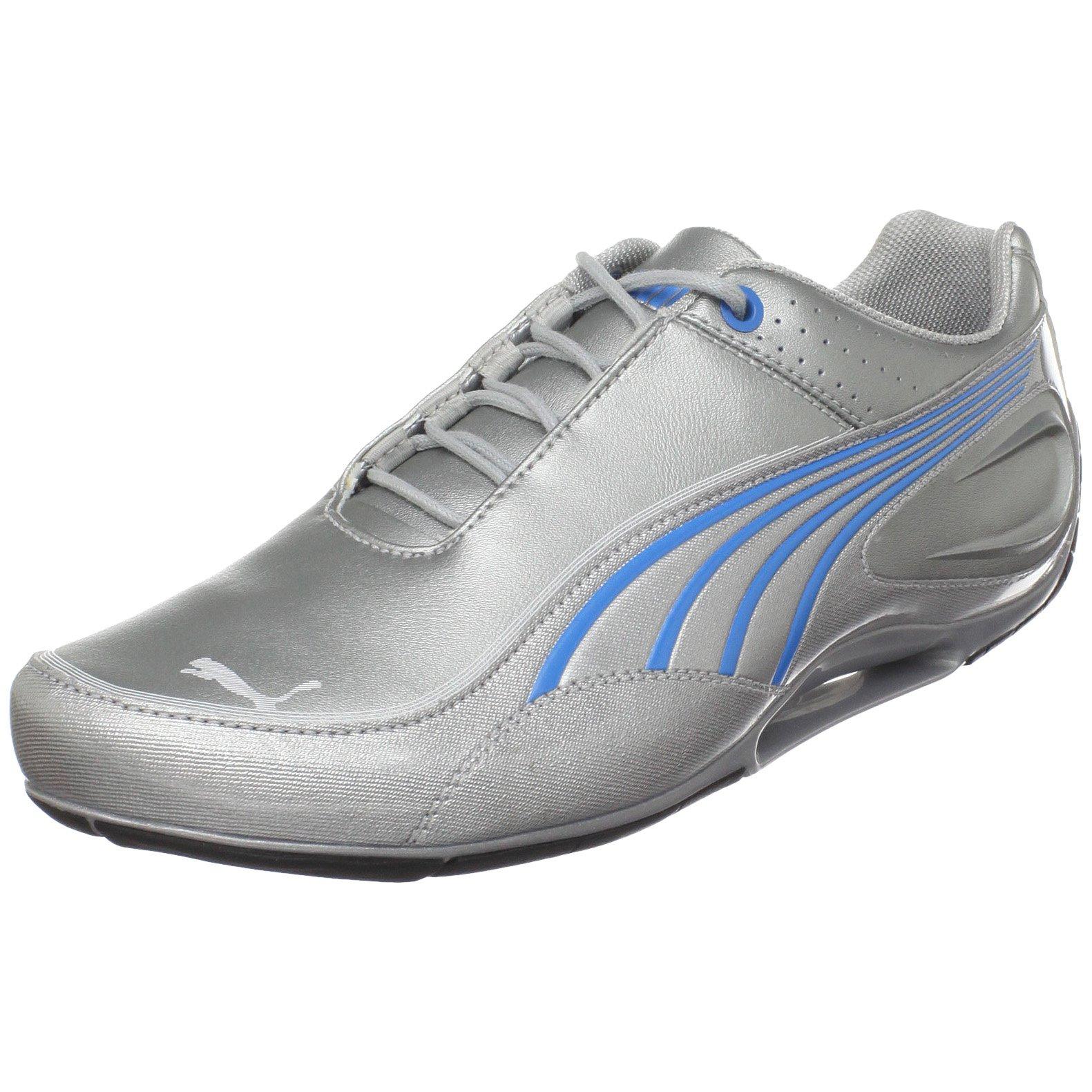 PUMA Unisex Tech LO NM Basic Sneaker,Puma Silver/Puma Silver/Diva,US Women's 12.5 B/US Men's 11 D