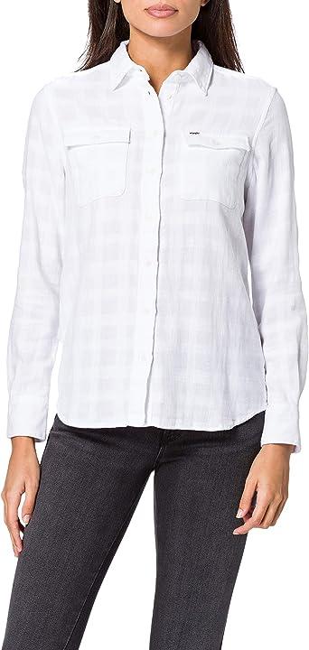 Wrangler Utility Shirt Blusa para Mujer