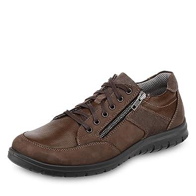 Chaussures Brunes Par Jomos Jomos Confort D'air 5cXSWj7