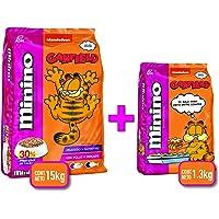 Minino Plus Multietapa Garfield 15 KG + 1.3 KG