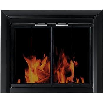 Amazon Com Pleasant Hearth An 1012 Alpine Fireplace Glass