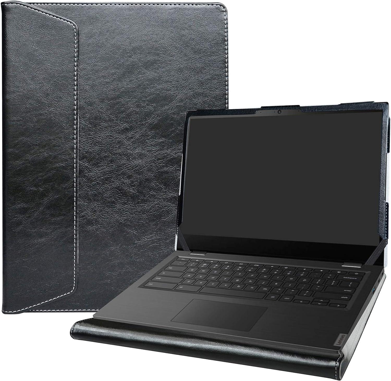 "Alapmk Protective Case for 14"" Lenovo 14e Chromebook/Lenovo Chromebook S345-14AST/Lenovo 14W Windows & HP Pavilion 14-ceXXXX & Dell Latitude 3410 Laptop[Not fit Pavilion 14-bfXXX 14-bkXXX],Black"