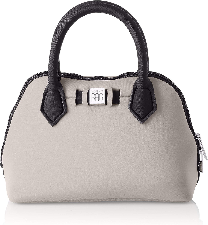 25x19x12 cm W x H x L save my bag Princess Mini Borsa a Mano Donna