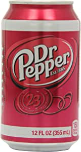 Dr Pepper Cans, 12 x 355mL