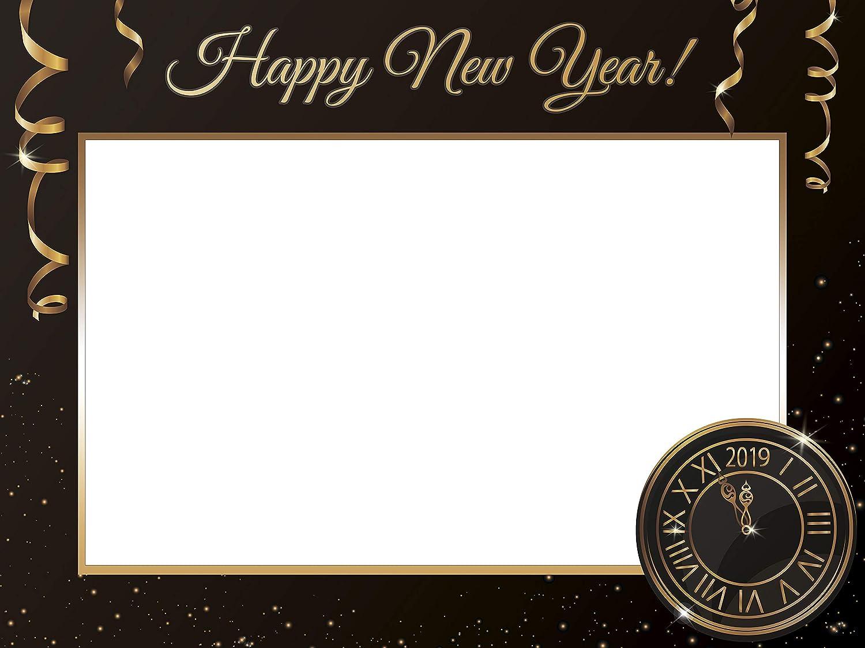 Amazoncom Large Custom Happy New Year Photo Booth Frame New Year