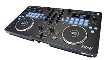 Gemini GMX Series Professional Audio DJ Multi-Format USB, MP3, WAV and DJ  Software Compatible Media Controller System with Touch-Sensitive High-Res