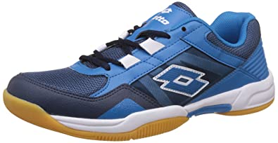 Mens Navy/White Running Shoes - 7 UK/India Lotto