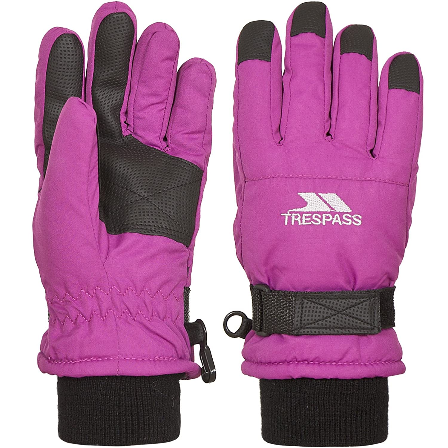 Trespass Childrens/Kids Ruri II Winter Ski Gloves (2-4 Years) (Black) UTTP3472_2