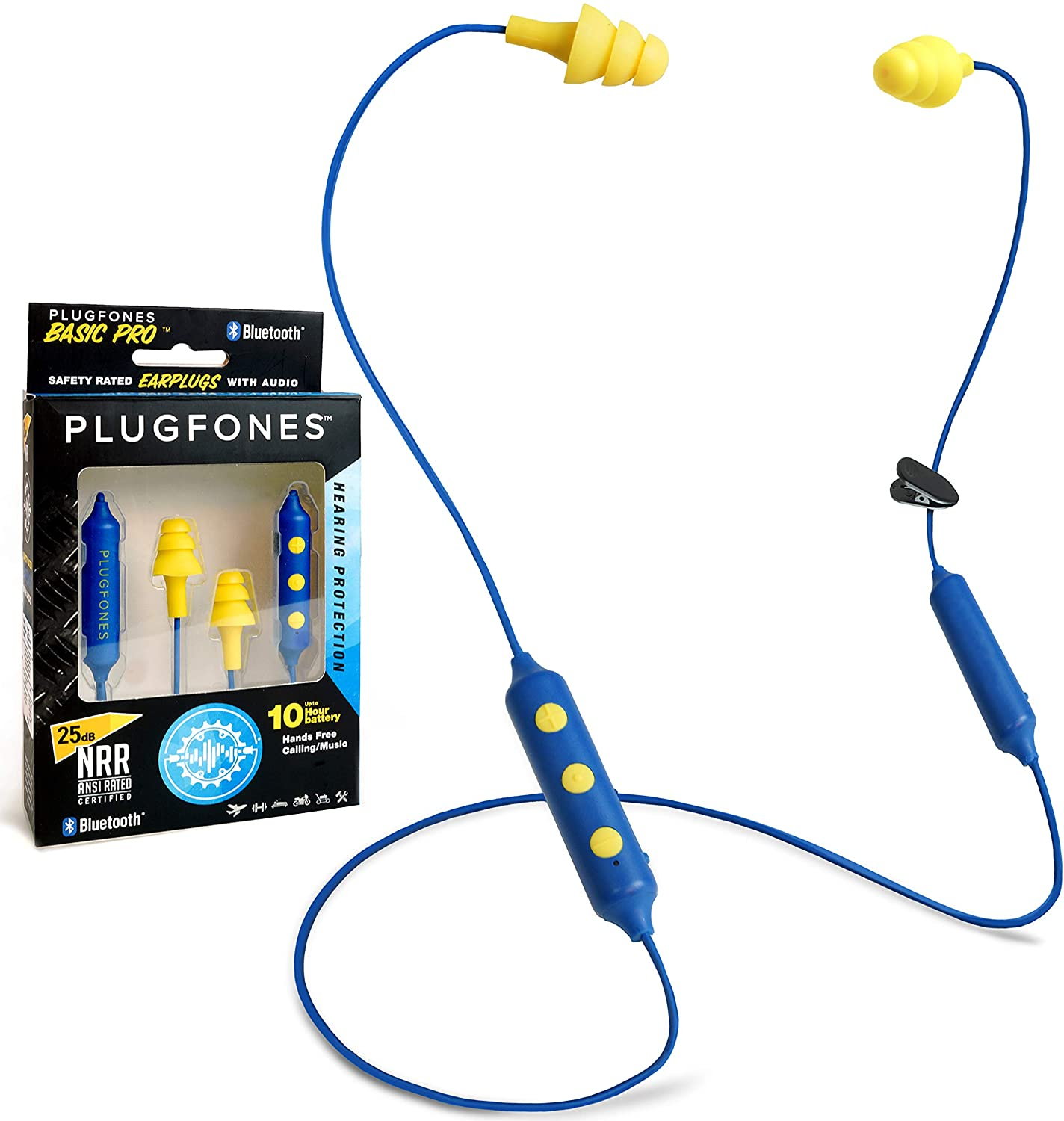 Plugfones Basic Pro Wireless Bluetooth