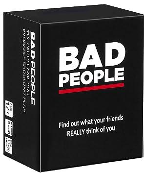BAD PEOPLE Juego de Fiesta Que Probablemente no deberías ...