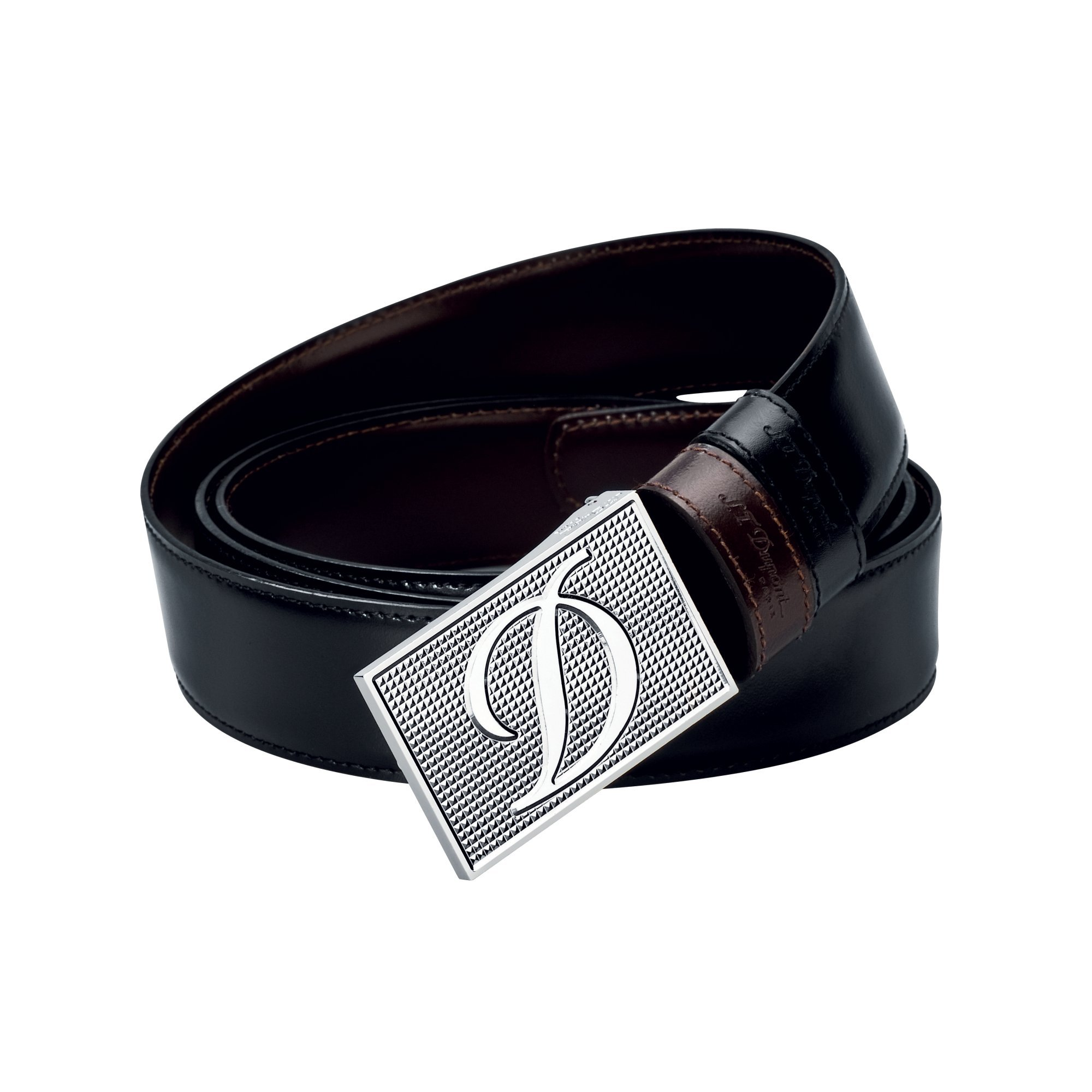 S.T. Dupont 7480120 Ligne D Business Reversible Black/Brown Belt