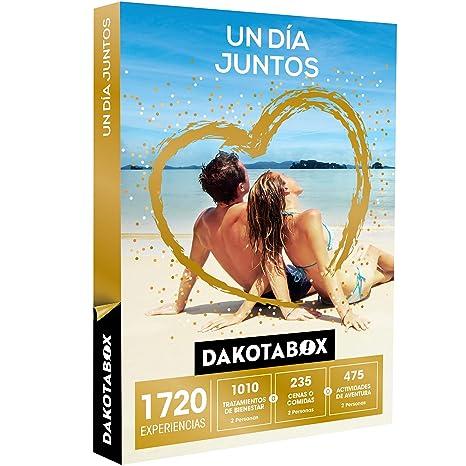 DAKOTABOX - Caja Regalo - UN DÍA JUNTOS - 1720 experiencias para disfrutar en pareja
