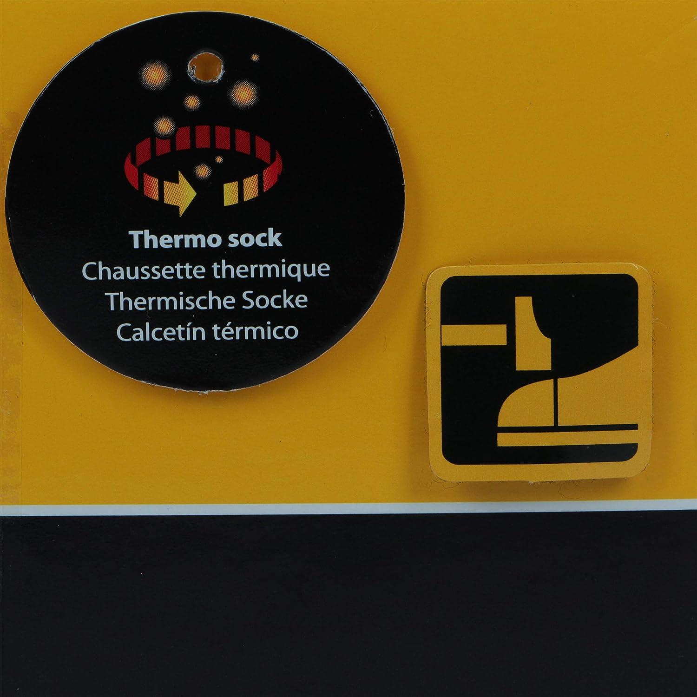 Caterpillar 6 Paia di calze termiche CAT uomo punta e tallone rinforzati in morbido cotone e acrilico di ottima qualit/à