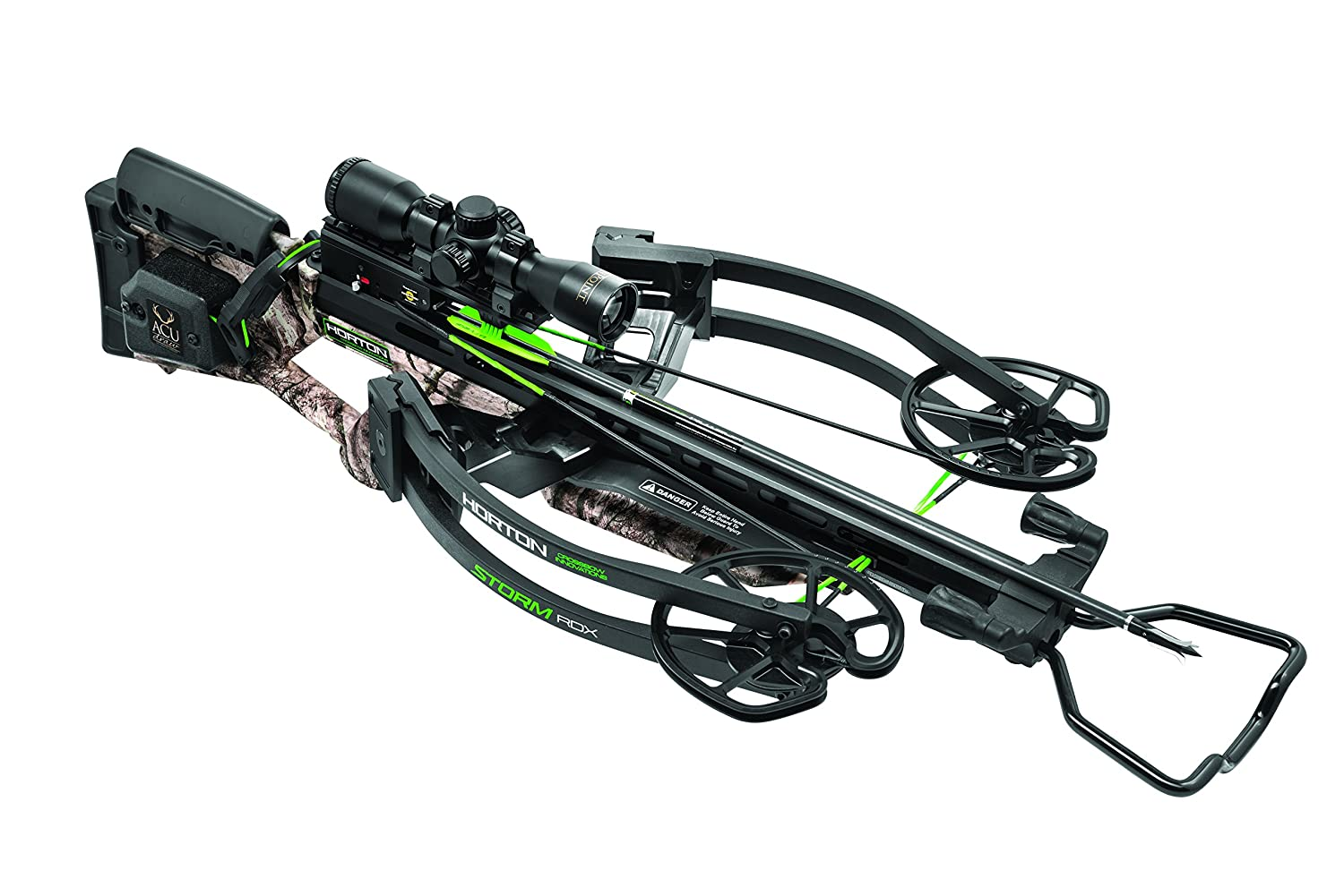 Horton Crossbow Innovations Storm RDX Premium Package With ACUdraw, One Size, Mossy Oak Treestand/Black