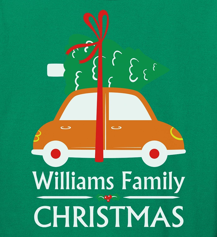 Personalized Matching Christmas Pjs for Family Xmas Tree Vintage Car Pajamas Set