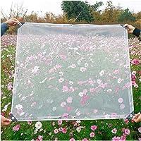 Transparant Zeildoek Regendicht, Op Zwaar Werk Berekend PVC 0,3 Mm Transparant Zeil, Waterbestendig Anti-veroudering…
