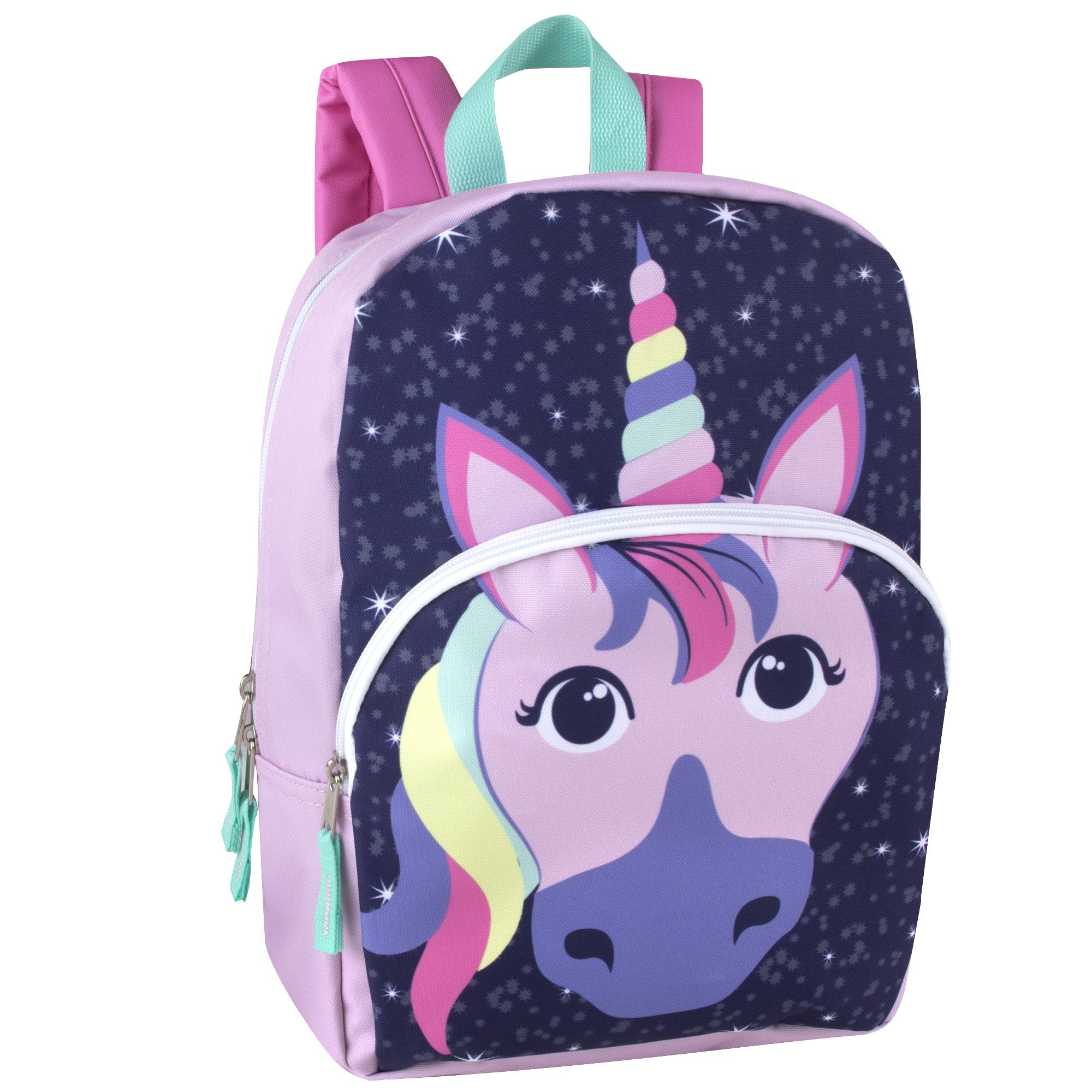 Kids Animal Friends Critter Backpacks For Boys & Girls With Reinforced Straps (UNICORN)